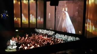 Andrea Bocelli Ave Maria live 2017 Globen Sweden