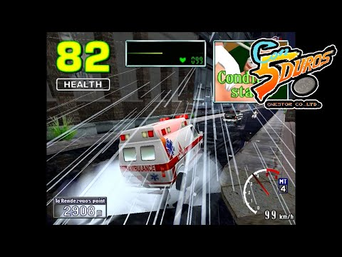 "EMERGENCY CALL AMBULANCE - ""CON 5 DUROS"" Episodio 836 (+Zombie Virus / PS2) (1cc)"