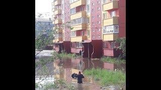 Наводнение в Чите 10 июля 2018 года