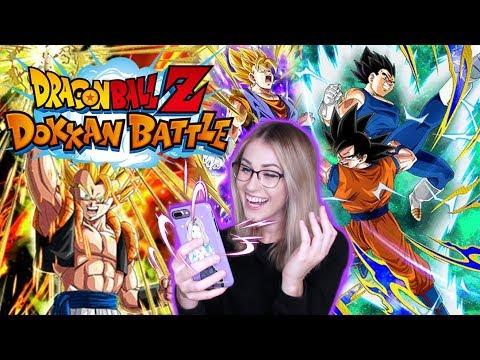 Dragon Ball Z DOKKAN BATTLE! LR GOGETA & VEGITO BANNER SUMMONS!