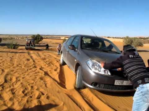 Rally en la duna (Marruecos)