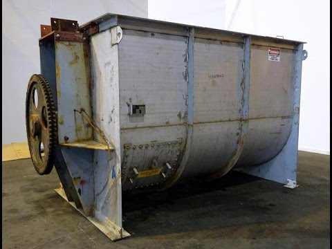 Used- Winbco Tank Company Double Spiral Ribbon Blender, - stock # 48404002
