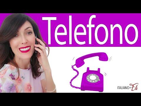 Conversazione in italiano al telefono ☎️ - Phone conversation in Italian -  Conversación en Italiano