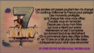 keen'v  - rendez-vous ( officiel video lyrics )