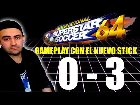 INTERNATIONAL SUPERSTAR SOCCER 64 || ISS 64 GAMEPLAY NINTENDO
