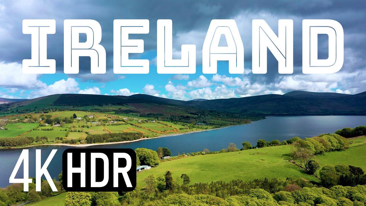 Beautiful Ireland in 4K   Tourist Attractions in Ireland