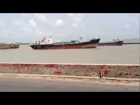 バングラデシュに仕事で行ってきた。  港の渋滞  Bangladesh Chittagong