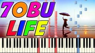 Tobu - Life Piano Cover on Synthesia + Free midi file