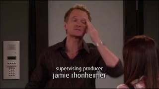 Barney says he's in love with Robin [How I Met Your Mother 4x1]