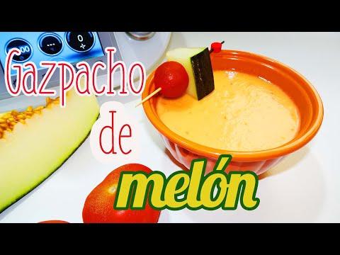 Gazpacho de melo?n Thermomix