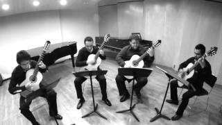 Cuarteto Sensemayá - Leo Brouwer (1939) toccata