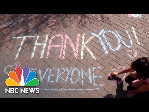 Saluting Veterans And COVID-19 Frontline Workers On Memorial Day | NBC News NOW