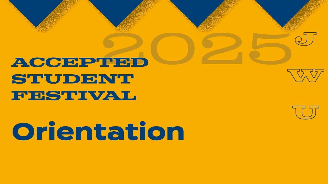JWU Accepted Student Festival: Orientation thumbnail