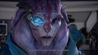 Mass Effect™: Andromeda Jaal wants to live with Ryder
