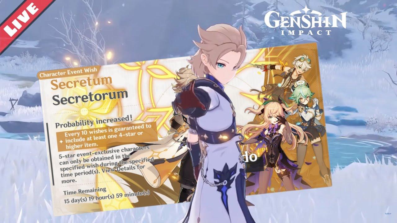 M G - Pulling for the Full Geo Alchemist Albedo! - Genshin Impact