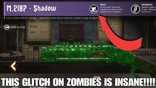 (Patched) M.2187 CRAZY GLITCH ON ZOMBIES!!!