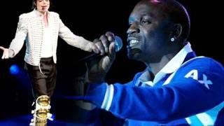 """Michael Jackson & Akon """"Come Together/Locked Up"""" Mixup"""