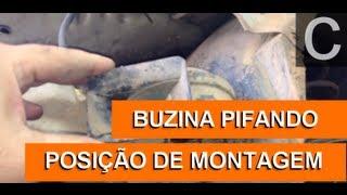 Dr CARRO Buzina Pifando Rápido   Posição correta de montagem