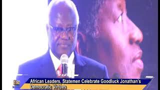 African Leaders, Statemen Celebrate Goodluck Jonathan's Democratic Virtues