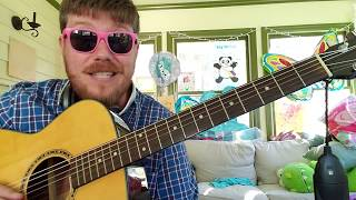 ZEZE - Kodak Black, Offset, Travis Scott // easy guitar tutorial for beginners