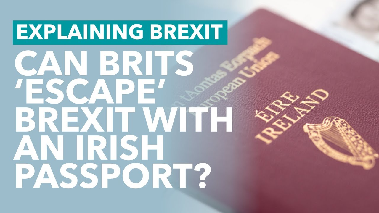 A Million People Apply to Become Irish: Can Brits Escape Brexit? – Brexit Explained