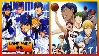 Ace of Diamond/Kuroko no Basket Opening 1 Mashup AMV
