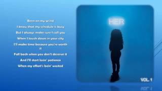 H.E.R.- Losing (Lyrics)