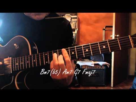Jazz Guitar - White Christmas - Chord Melody - Chords Chords - Chordify
