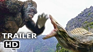 """KING KONG Official Trailer + CLIP """"The Fight"""" (2017) Blockbuster Action Movie HD"""