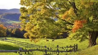 Milton Cardoso - Espírito Santo eu Te amo sim (LYRIC)