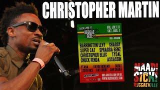 Christopher Martin - Reggae Road Block @ Reggae Geel 2015