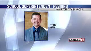 Hamilton City Schools Superintendent Tony Orr resigns