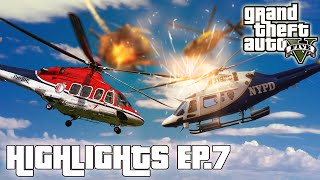 EPIC HELICOPTER BATTLE - GTA V Highlights | Ep.7 w/MrRayHonda & Muyskerm