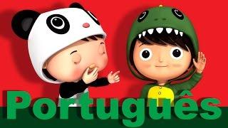 Enrole a bobina | Canções infantis | LittleBabyBum