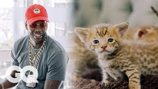 2 Chainz Plays with $165,000 Kittens   Most Expensivest Sh*t   GQ