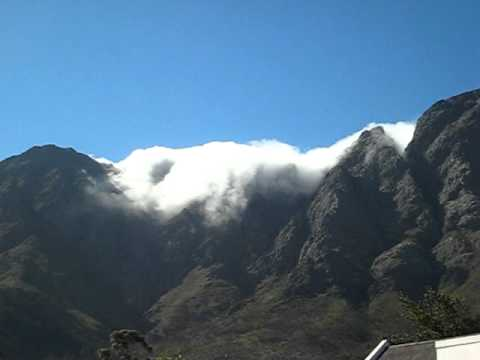 Franschhoek Cloud Fall