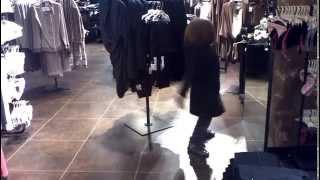 Giulia dancing at tezenis