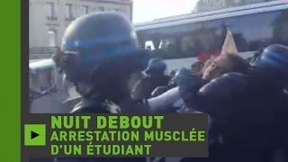 Nuit Debout : l'arrestation violente d'un étudiant de l'Université Paris 8