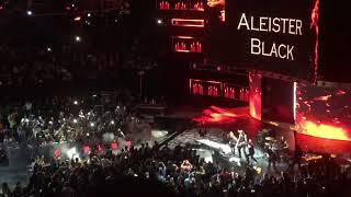 Aleister black Barclays entrance