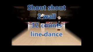 SHOUT SHOUT line dance