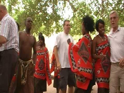 dansen in Zuid Afrika
