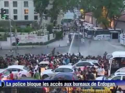 Turquie: les manifestations continuent contre le gouvernement