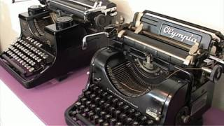 TV Slovácko: Výstava psacích strojů