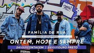 Teaser - Família de Rua em Contagem e Ouro Preto - 24 e 25/03/17