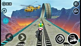 Impossible Moto Bike Tracks 3D 2018-Best Android Gameplay HD #11