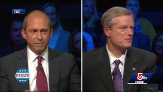 'I misspoke;' Gov. Baker says he'll vote for GOP ticket, despite debate claim