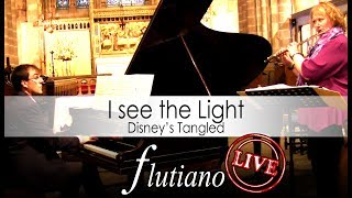 "Disney's Tangled - I see the light | FLUTIANO ""live"""