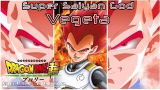 DBS: Super Saiyan God Vegeta - HalusaTwin