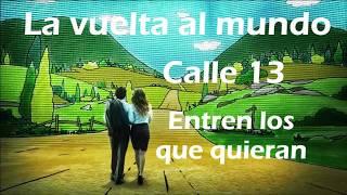 Calle 13 La vuelta al mundo letra