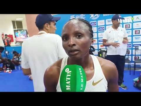 Video : La Kenyane Hellen Obiri la plus rapide de l'année sur le 5.000m